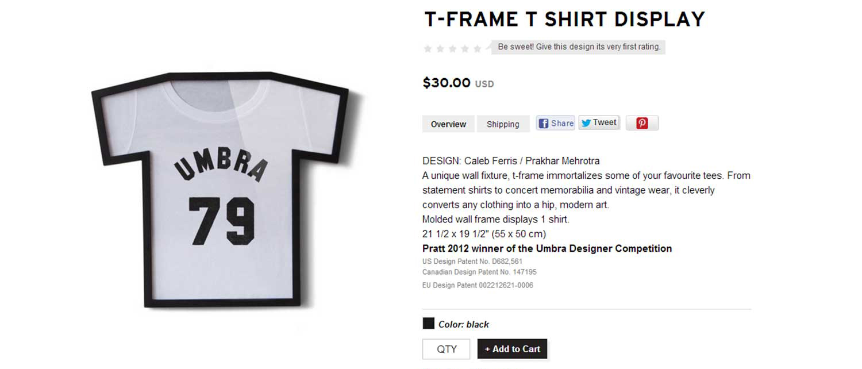 T-Shirt Frame – Designing Emergence